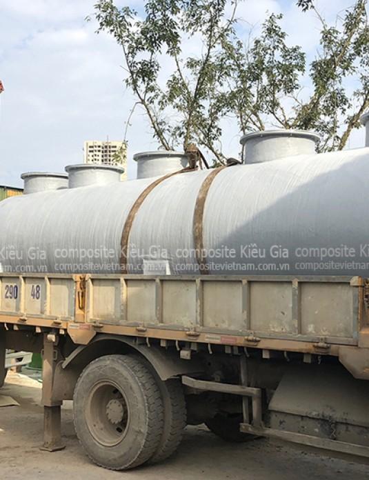Bàn giao bồn xử lý nước thải công nghiệp