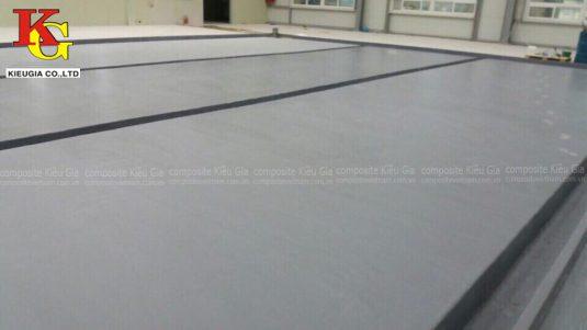 bọc composite cho sàn nhà