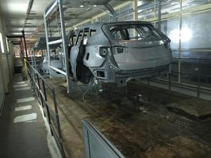 Bọc composite cho bể sơn điện ly nhà máy ô tô Huyndai Ninh Bình