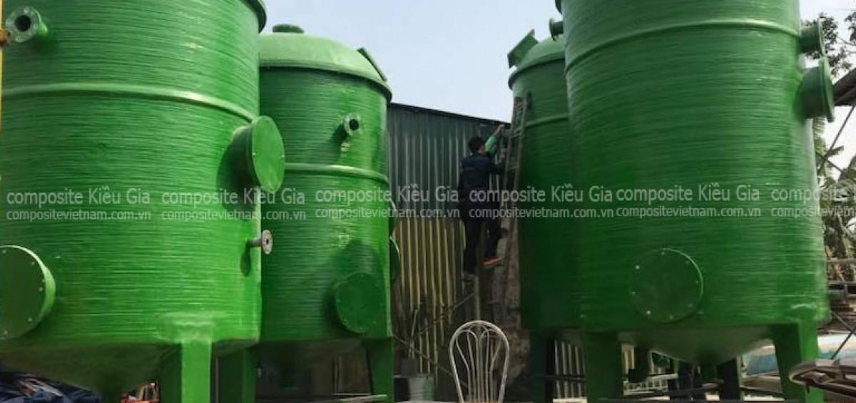 bồn chứa nước sạch