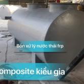 bồn xử lý nước thải 1,4x4,5m