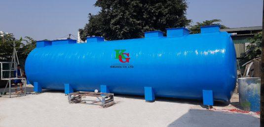 Bồn bể xử lý nước thải